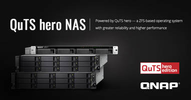 New QuTS hero NAS Operating System Integrates QTS with 128-bit ZFS File System