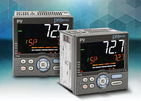 New Process Controllers Configured with Keypad and Display