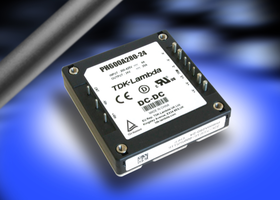 New PH600A280 DC-DC Converter Comes with Remote On-Off, Over-Current and Over-Voltage Protection
