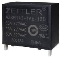 New AZSR143 Power Relay is Ideal for Solar and EV Charging Applications