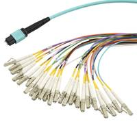 New MPO Breakout Cables Come with Multiple Fiber Grade and Jacket Options