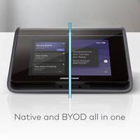 New Crestron Flex MX Features 360 Degree Quad Microphone Array