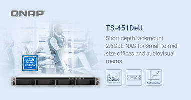 New Rackmount NAS Supports AES-NI Encryption Engine