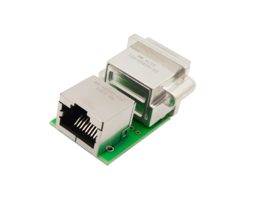 New RJ45 to RJ45 PCB Coupler Features Optional Use LEDs