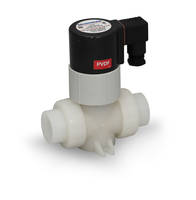 New PVDF Solenoid Valves Come with Corrosion Resistant Polyester Coil