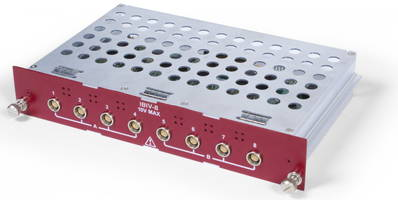 New 8-Channel Input Module for DXS-100 and DDX-100 Data Acquisition System