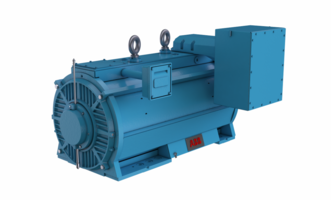 New AXW Large AC Motors for Harsh and Contaminate Filled Environments