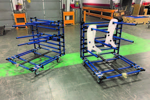 New Production Cart from Creform is Ideal for ESD Anti-Static Applications