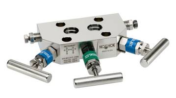 New 3- and 5-Valve Manifolds are Helium Leak Tested to 1 x 10-4 ml/s for Reliability