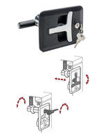 New Lift and Turn Compression Latch for Utility Vehicles and Industrial Plants