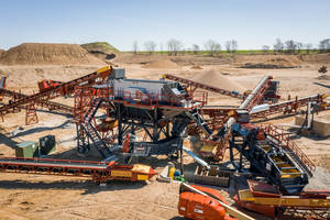 New Modular Plants for Aggregate Crushing, Sizing and Washing Applications