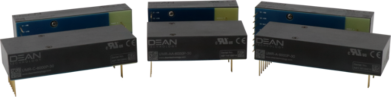 New UMR Series DC/DC Power Supplies are UL and CE Certified