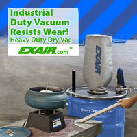 New Heavy Duty Dry Vac for Tough Industrial Environments