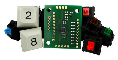 New USB Keyboard Controller Module Offers Key-operated Mouse Function