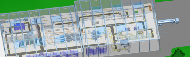 New Factory Layout and Plant Design Software Enables Size-Independent Planning