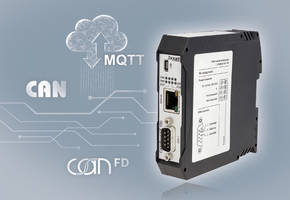New Ixxat CAN@net NT and CANbridge NT Series Offers Bi-directional MQTT Messaging
