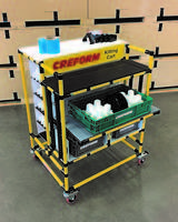 Latest Kitting Cart from Creform Can be Configured for ESD (Anti-Static) Applications