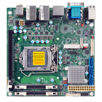 New Mini-ITX Single Board Computer Features 1 PCIe X16 and 1 Full-size Mini PCIe