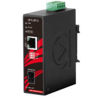 New Ethernet-to-fiber Media Converters Feature 10/100/1000Tx Ethernet Port