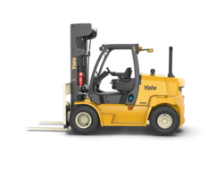 New GP155-170SVX ICE Forklift Comes with Rear-Facing Camera and LCD display