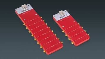 New Multiport Lab Brick Digital Attenuators Operating from 200 MHz to 8 GHz