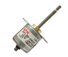 New Linear Stepper Motor with 30/60 mm Effective Stroke