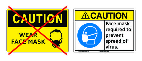 New Labels and Signs from Clarion Safety Meet ANSI and ISO Standards