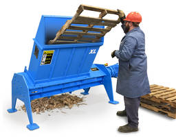 New Pallet Shredder Features An Enclosed Hopper Design