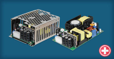 New AC-DC Power Supplies for Space-constrained Medical and Dental Applications