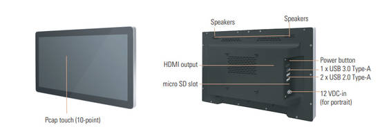 New Panel PCs with Swappable Signage Computer Module