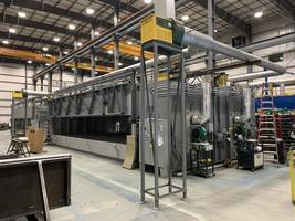 Wisconsin Oven Ships Two Natural Gas, In-Direct Fire, Two Zone Conveyor Ovens