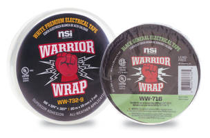 New WarriorWrap Tape from Platinum Tools Is Ideal for Electrical Applications