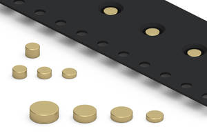 New SMT Discs Machined from Brass