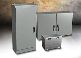 New KwikHinge Series Enclosures Made from Carbon Steel and Stainless Steel
