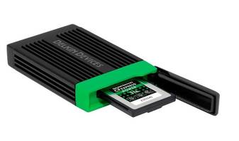 New Memory Card Reader for Professional Photographers and Videographers