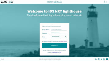 New NXT Lighthouse AI Training Software Provides Ability to Upload Individual Sample Images