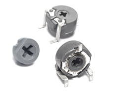 New 6 mm Potentiometer for High Temperature Lead-free SMD Production