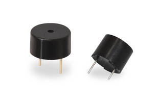 New Magnetic and Piezo Indicator Buzzers Come with Built-In Driving Circuit
