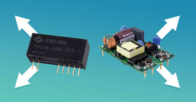 New DC-DC Converters Offer Ultra-wide 4:1 Input Range