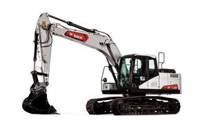 New E165 Excavator from Bobcat Includes Wide-Open Access Covers