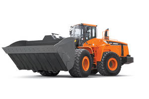 New DL580-5 Wheel Loader Comes with Aggregate Buckets