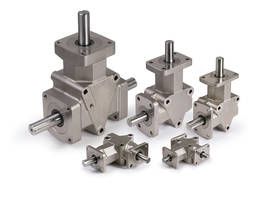 New IP65 Rated Angle Gear Drives are Ideal for Food Processing and Food Packaging Applications