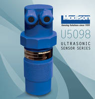 New Ultrasonic Sensors for Depths up to 32 Feet