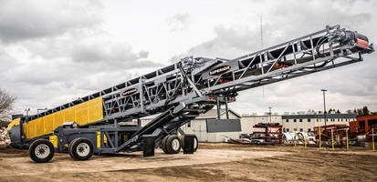 New Telestacker Conveyor is Equipped with 96kW Cat 4.4 Tier 4 Final Engine