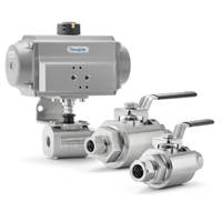 New GB Series Ball Valve Features Bolt Pattern