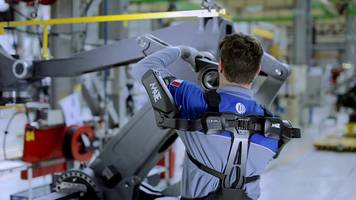Comau Mate is the First Eaws-Certified (Ergonomic Assessment Work-Sheet) Exoskeleton