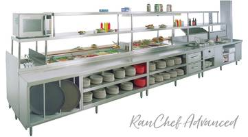 New Randell RanChef Intro Chef Tables Enhance Foodservice Operational Efficiency