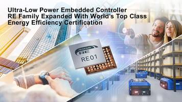 New Embedded Controllers with 256 KB Flash Memory and 128 KB SRAM