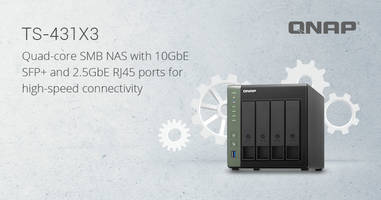 New Quad-core 1.7 GHz TS-431X3 NAS Supports Snapshot Technology