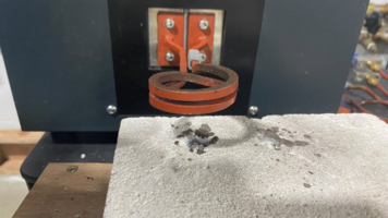 UltraFlex Brazing Stainless Steel within 15 secs, at Target Temperature of 1472°F (800°C)